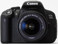 Canon EOS 700D Digitalkamera 18 MP Kit mit Objektiv EF-S 18-55mm 3.5-5.6 IS STM