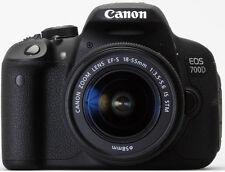 Canon EOS 700d Appareil Photo Numérique 18 MP Kit avec objectif EF-S 18-55 mm 3.5-5.6 IS STM
