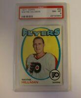 1971 Topps #62 Wayne Hillman Flyers PSA 8 NM-MT