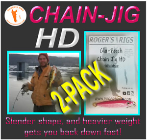 Chain Jig HD by Roger's Rigs (2-PACK)