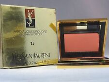 YVES SAINT LAURANT -  FARD A JOUES POUDRE - BLUSHING POWDER - #25 - NEW IN BOX