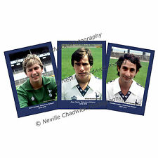 Tottenham Hotspurs, Players of the 70's Collection Portraits, 7x 5 prints 78-79