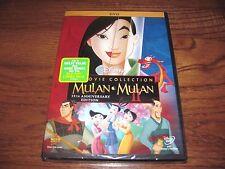 Mulan & Mulan II -Disney's  2 Movie Collection; DVD's w/ Movie Reward) FAST Ship