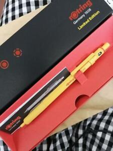 rotring 600 Japan limited edition color yellow Mechanical pencil 0.5mm New