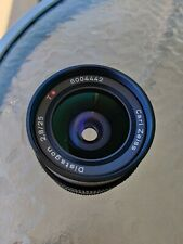 CONTAX Carl Zeiss Distagon 25mm F2.8 T* AEG Wide Angle Lens for CY Great