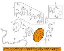 NISSAN OEM Front Brake-Disc Rotor 402063JA0A