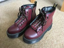 Asian Purple Punk Ankle Boots, Great Unused Condition. SIZE UK 4.5