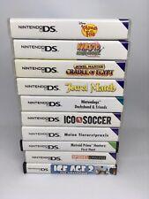 Nintendo DS Spielesammlung / Spielepaket 10 Stück / Modul / Beiheft / Hülle