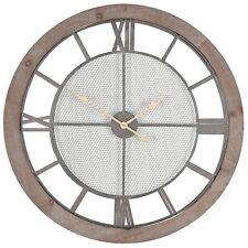 Pagazzi Lighting Round Wood Wall Clock 75-184