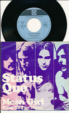 "STATUS QUO 45 TOUS 7"" GERMANY MEAN GIRL"