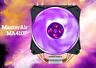 Cooler Master MASTERAIR MA410P RGB LED Heatsink CPU Cooler LGA1150/1151/2066 AM4