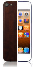 Skinomi Skin Dark Wood Cover+Clear Screen Protector for Apple iPod 5G 16GB