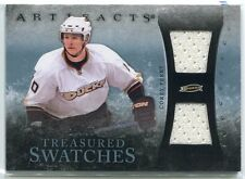 2010-11 Artifacts Treasured Swatches Blue CP Corey Perry Dual Jersey 23/35