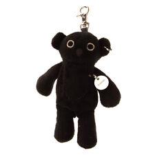 """Diesel """"D-Teddrock"""" Fa-Tedd Soft Teddy Bear Keyring Zipped Pocket Logo Charm"""