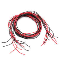 24AWG Silicone Gauge Flexible Stranded Wire Copper Cable 10 Feet Fr RC Black Red