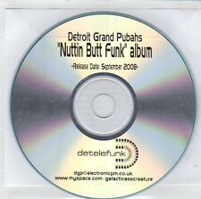 (ET97) Detroit Grand Pubahs, Nuttin Butt Funk - 2008 DJ CD