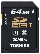 64GB SDHC Camera Memory Cards