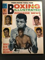 1968 Boxing Illustrated MUHAMMAD ALI What Now Heavyweights JOE FRAZIER Tiger