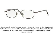 b58baa365cc4 Brooks Brothers Eyeglass Frames for sale | eBay