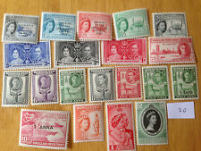 20 diferentes Somalilandia Colección de sellos