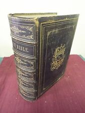 19th Century Bible, KJV - Devotional Family Bible