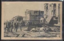 Postcard LORAIN Ohio/OH  Broadway Area South Tornado Disaster view 1920's