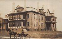Real Photo Postcard B.V. General Hospital in New Brighton, Pennsylvania~112452