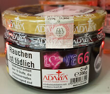 Adalya LOVE 66 Shisha Tabak Tobacco 200g neue Produktion (7,45 € pro 100g) NEU
