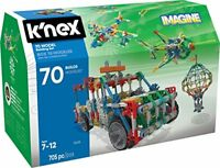 K'NEX 70 Model Building Set – 705 Pieces Ages 7+ Engineering Education Toy