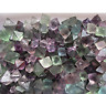 Natural beautiful Fluorite Crystal Octahedrons Rock Specimen 100g