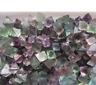 Natural beautiful Fluorite Crystal Octahedrons Rock Specimen 100g