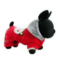 Small Dog Jumpsuit Warm Cat Puppy Clothes Winter Pet Apparel Costume Sweater New