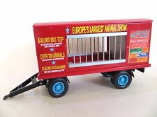 CORGI CHIPPERFIELD'S CIRCUS DRAW-BAR ANIMAL CAGE TRAILER 1:50 97889 PERFECT