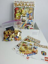 LEGO 3849 Orient Bazaar, build & play trading market game: complete in box