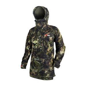 Stoney Creek Men's Long Bush Shirt - TCF Camo, Windproof Jacket, RRP $179.99