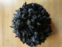 KHALEEJI HAIR /CLAMP CLIP / FLOWER VOLUMISER FOR HIJAB SCARF Extra Large 23cm UK