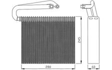 NRF Evaporador, aire acondicionado FIAT CROMA OPEL SIGNUM SAAB 9-3X 9-3 36110