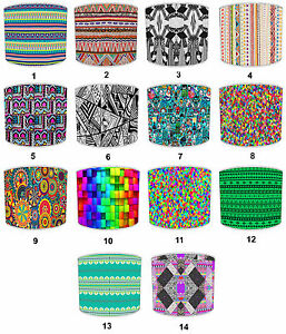 Lampshade Ideal To Match Aztec Inca Tribal Design Wall Art Decals Stickers Duvet