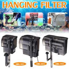220V Aquarium External Canister Hang On Filter 500/600L/H Fish Tank Water Pump
