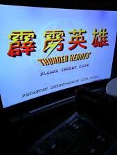 THUNDER HEROES - PCB Jamma Arcade Beat them up Clone Hack NO Gaia Crusaders