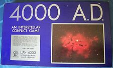 4000 A.D. Interstellar Conflict Game 1972  Space Future Strategy English/French