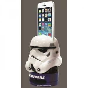NEW Plasticolor Star Wars Stormtoopoer Speaker Eco Box (White) iPhone Galaxy