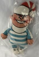 Vintage 1970s COKE Soda Coca Cola Plush Advertising DOLL Toy Elf Boy Sealed Bag