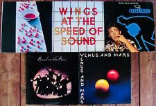 PAUL McCARTNEY & WINGS-Lot Of 5 Great Rock Albums (1 Rare Promo)-The Beatles