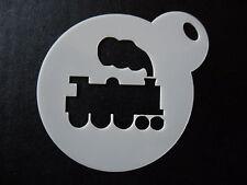 Découpe Laser petit train à vapeur Design Gâteau, Cookie, craft & visage paintinstencil