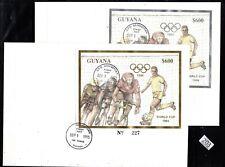 /// GUYANA 1993 - GOLD+SILVER - OLYMPICS, SOCCER