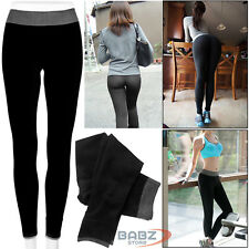 Ladies Women Yoga Pants Fitness Leggings Running Gym Exercise Sports Trousers UK