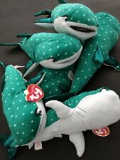 "LOT OF 369 PCS TY Beanie Babies FINDING DORY Sparkle 12"" DESTINY Whale Shark NWT"