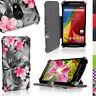 Cuir PU Etui Flip Housse pour Motorola Moto G 2ème Gen XT10683 Coque Case Cover