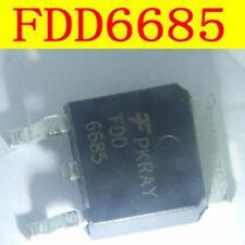5 PCS New FDD6685 6685 TO-252   ic chip